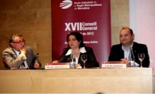 Intervenció de la Ima. Sra Sònia Recasens, nova presidenta del Pacte Industrial