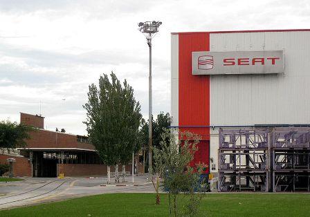 Fàbrica de Seat a la Zona Franca. Foto: Enfo