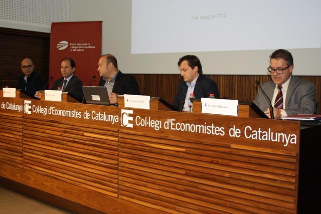 Un momento de la presentación del Cuaderno 12 del Pacto Industrial