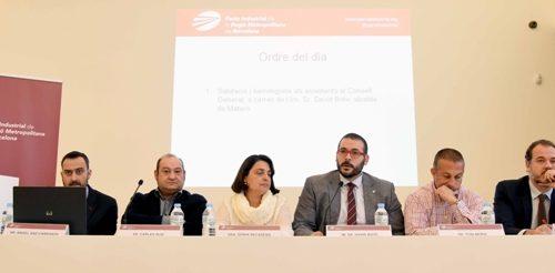 De izq. a dcha.: Angel Saz-Carranza, Carles Ruiz, Sònia Recasens, David Bote, Toni Mora y Mateu Hernández