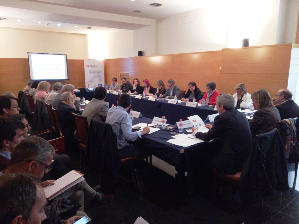 A snapshot of the 43rd Meeting of the Pacte Industrial Executive Committee