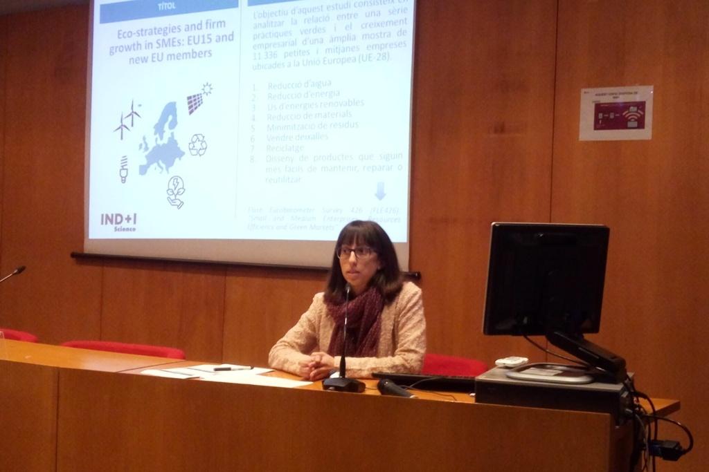 Elisenda Jové-Llopis, guanyadora del premi Indústria verda per al creixement sostenible impulsat pel Pacte Industrial