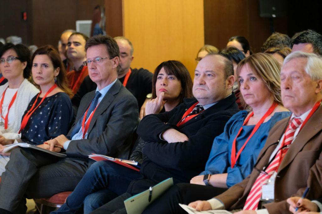 Imatge de la primera fila del públic