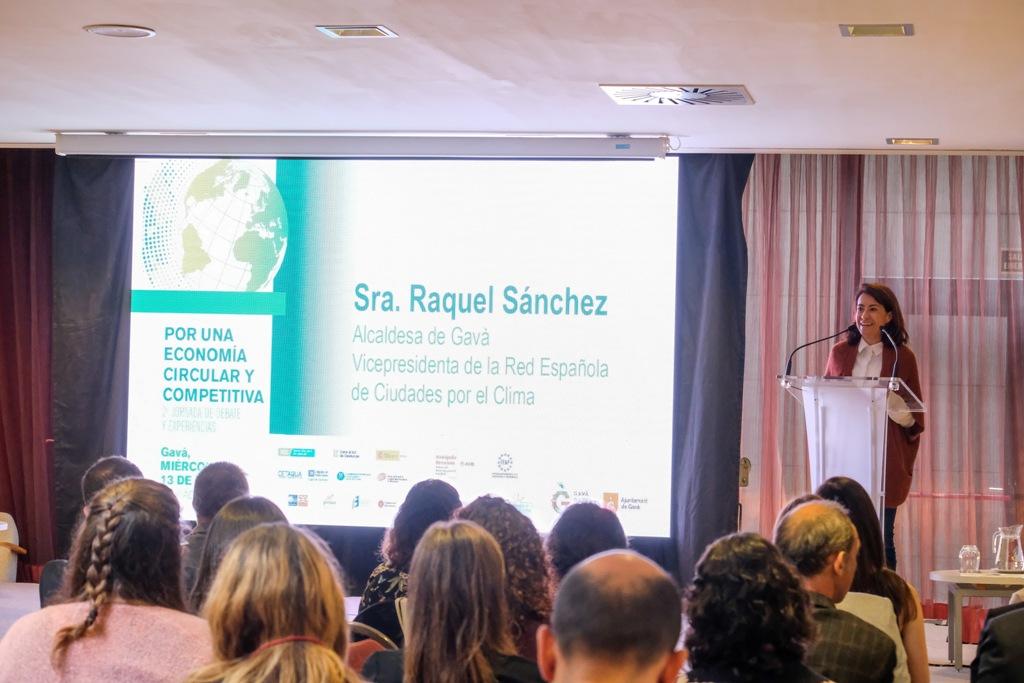 Raquel Sánchez, alcaldesa de Gavà