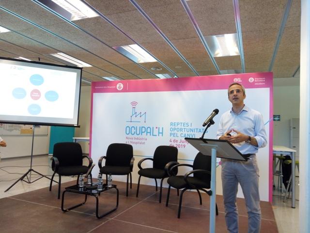 Carles Rivera, coordinador gerent del Pacte Industrial.