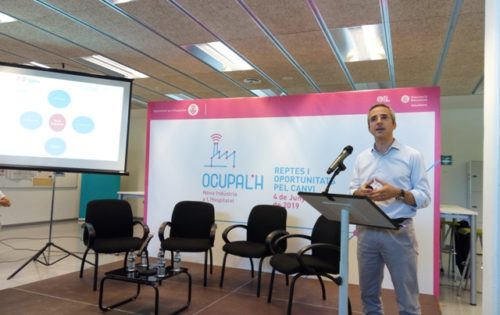 Carles Rivera, coordinador gerente del Pacto Industrial.